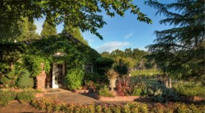 Visit Mt. Vernon Winery In Northern California Where The Tasting Room Is Surrounded By Lush Gardens