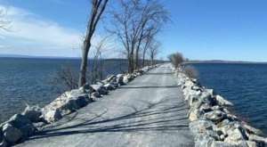 Head To The Colchester Causeway In Vermont For Hiking, Biking, And Breathtaking Views