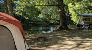 The River Campground Near Detroit Where You'll Have An Unforgettable Tubing Adventure