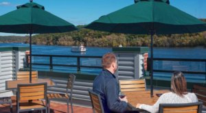 Look Out On The Beautiful St. Croix River When You Visit The Papa's Rooftop In Stillwater, Minnesota