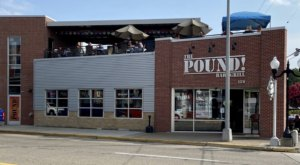 Dig Into A Mountain Of Nachos When You Dine At The Pound Bar & Grill In Michigan