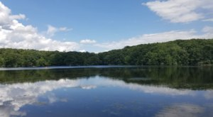 Metamora-Hadley Recreation Area Is A Sprawling Michigan Park That Surrounds An 80-Acre Lake