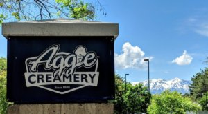 Utah's Aggie Creamery Serves Milkshakes, Cones, And Treats Galore