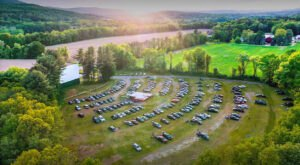 This Vintage Drive-In Movie Theater Sits In Both New Hampshire And A Neighboring State