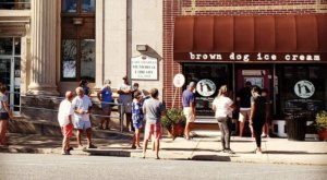 Nothing Beats A Pint Of Homemade Ice Cream From Brown Dog Ice Cream In Cape Charles, Virginia