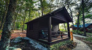 The Largest State Park In New Hampshire Offers More Than 100 Incredible Rustic Campsites And Cabins
