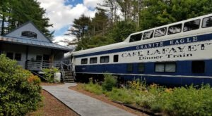 Enjoy A Scrumptious 5 Course Meal With Unbeatable Views On This Vintage New Hampshire Dinner Train
