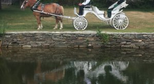 See The Charming Town Of Ludlow In Massachusetts Like Never Before On This Delightful Horse and Carriage Ride