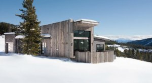 Take In Montana's Finest Views From The Hot Tub Of This Modern Mountain Home