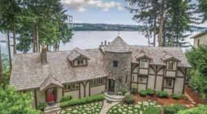 Spend A Weekend Whale Watching From This Stunning Chateau In Washington