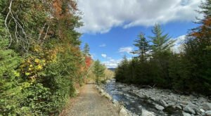 This Year-Round Maine Trail Follows The Carrabassett River And Offers Tons Of Uses