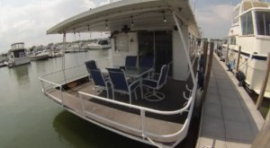 Get Away From It All With A Stay In An Incredible Lake Erie Houseboat Near Cleveland