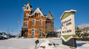 Surround Yourself In History While You Dine At Corkscrew Saloon Near Cleveland