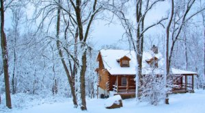 You'll Have A Front Row View Of The Ohio Hocking Hills Region In This Cozy Cabin