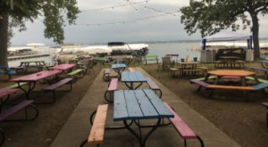 The Lake Views From PM Park In Iowa Are As Praiseworthy As The Food