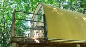 Stay The Night In An Iroquois Longhouse-Inspired Tiny Home In North Carolina