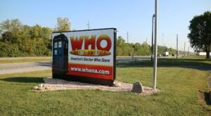 The Dr. Who Capital Of The World Is Hiding In Small-Town Indiana And It's As Weirdly Wonderful As You'd Expect