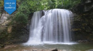 Enjoy Both Wine And A Waterfall On This Awe-Inspiring Adventure In Central Ohio