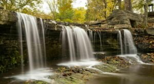 7 Easy-Access Indiana Waterfalls That Are Perfect For A Summer Adventure