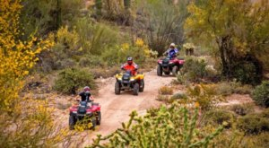 Arizona Outdoor Fun Lets You Have A Thrilling UTV Adventure Without A Tour Guide
