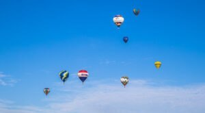 Hot Air Balloons Will Be Soaring Across The Sky At Alabama's Gulf Coast Hot Air Balloon Festival
