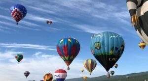 Hot Air Balloons Will Be Soaring At New Mexico's Balloons Over Angel Fire