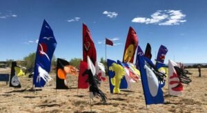 Watch Dozens Of Kites Soar In The Sky At 18th Annual Kite Festival In New Mexico