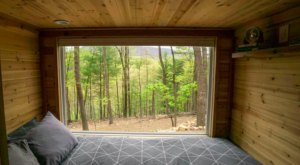 Wake Up To A Dreamy View Out The Window Of This Snug Airbnb Nest In The West Virginia Forest