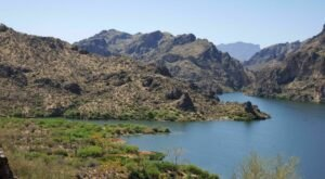 Take A Hike, Then Cool Off In Saguaro Lake On Butcher Jones Trail In Arizona