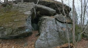 Experience A Beautiful Hike And Learn About A Local Connecticut Legend When You Visit Black Rock State Park's Leatherman Cave
