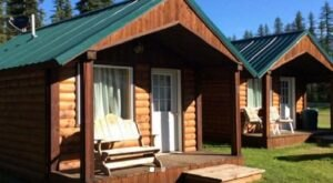 The Stanton Creek Cabins Offer A Classic And Possibly Haunted Montana Experience