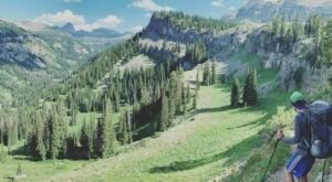 Alaska Basin Trail Is A Gorgeous Forest Trail In Wyoming That Will Take You To A Hidden Overlook