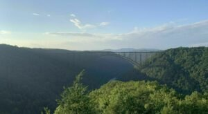 Hike A Trail To The Base Of The New River Gorge Bridge For A New View Of A West Virginia Icon