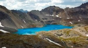 This Hidden Lake In Colorado Has Some Of The Bluest Water In The State