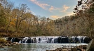 Take A Magical Waterfall Hike In Arkansas To Richland Creek Falls, If You Can Find It