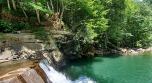West Virginia's Most Refreshing Hike, Glade Creek Trail, Will Lead You Straight To A Beautiful Swimming Hole