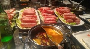 Enjoy An Authentic Asian Hotpot Experience In Connecticut As Food Is Prepared At Your Table At Han Restaurant