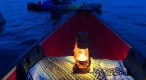 Try The Ultimate Nighttime Adventure With Moonlight Kayaking On Watson Lake In Arizona