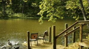 Stay In A Charming Arkansas Cottage With Its Own Private Six-Acre Lake