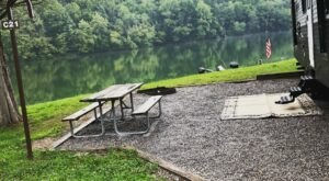 Spend The Night At A Civil War Battlefield When You Visit This Lakeside Campground In West Virginia