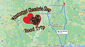 The Sweetest Road Trip in Mississippi Takes You To 6 Old School Chocolate Shops