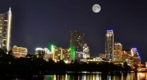 Try The Ultimate Nighttime Adventure With Full Moon Kayaking On Lady Bird Lake In Texas