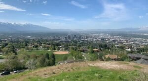 You'll Have A Bird's Eye View Of The Salt Lake Valley At Utah's Ensign Peak