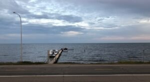 You'll Love Watching The Waves Come In At Twin Pines, A Mille Lacs Lake Restaurant And Resort