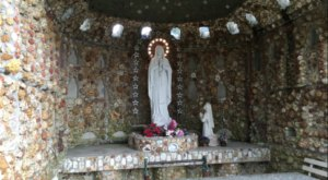 Marvel At Man's Ingenuity At The Fascinating Geode Grotto In Indiana