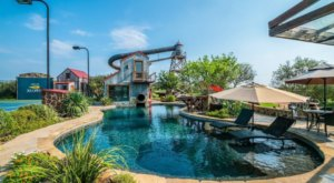 This Insane Vacation Rental In Texas Has Its Own Waterpark With A 4-Story Slide
