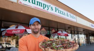 Everything Is Handmade From Scratch At Stumpy's, A Neighborhood Pizza Joint In Arizona