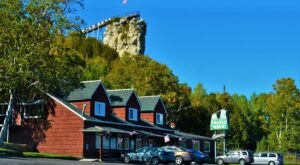 Castle Rock, A 195-Foot-High Natural Lookout In Michigan, Boasts Views Of Up To 20 Miles