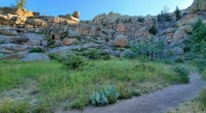 Turtle Rock Loop Trail In Wyoming Is Full Of Awe-Inspiring Rock Formations