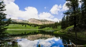 The Hike To Wyoming's Pretty Little Trout Lake Is Short And Sweet